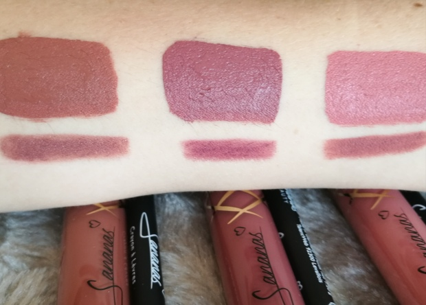 Sananas Beauty rouges à lèvres